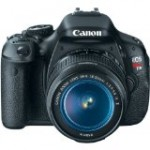 Canon EOS Rebel T3i 18 MP CMOS Digital SLR Camera and DIGIC 4 Imaging with EF S 18 55mm IS Lens