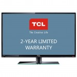 TCL LE43FHDF3300 43 Inch 1080p LED HDTV with 2 Year Limited Warranty Black with Gun Metal Stripe