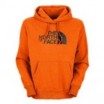 The North Face Half Dome Hoodies Oriole Orange Mens