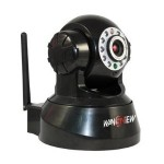 Wireless IP Pan Tilt Night Vision Internet Surveillance Camera Built in Microphone With Phone remote monitoring support