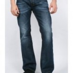 Diesel Mens Zathan Regular Boot Cut 0806u Jean