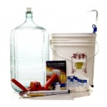 Gold Complete Beer Equipment Kit K6 with 6 Gallon Glass Carboy