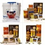 Maestro Homebrew Beer Kit with 3 True Brew Home Brew Ingredient Kits