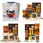 Maestro Homebrew Beer Kit with 3 True Brew Home Brew Ingredient Kits