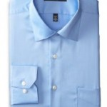 Geoffrey Beene Mens Fitted Sateen Dress Shirt