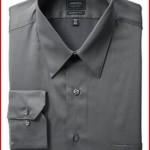 Arrow Men's Wrinkle Free Sateen Solid Shirt