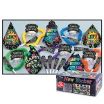 Beistle 88250-NR The New Yorker Party Favors, 1 Assortment Per Package