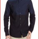 Calvin Klein Sportswear Men's Horizontal Engineered-Stripe Woven