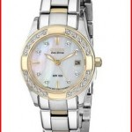 Citizen Women's EW1824-57D Eco-Drive Regent Two-Tone Diamond-Accented Watch