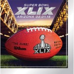 Creative Converting Arizona 16 Count Super Bowl 2015 Lunch Napkins, Multicolored