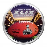 Creative Converting Arizona 8 Count Super Bowl 2015 Paper Dinner Plates, Multicolored