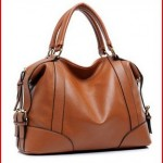 Hynes Eagle Womens Leather Luxury Hobo Shoulder Handbag