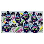 Neon Midnight New Year's Eve Party Kit for 10