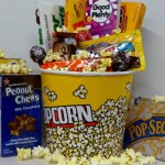 Old Fashion Movie Night Candy Gift , Movie Theater Boxed Candy Bundle