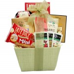 Organic and Natural Healthy Gift Basket - A Healthy Holiday Gift Basket