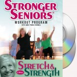 Stronger Seniors® Chair Exercise Program- 2 disc Chair Exercise Program- Stretching, Aerobics, Strength Training, and Balance.