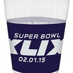 Super Bowl XLIX Plastic Cups Pack of 25
