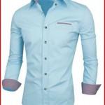 Tom's Ware Mens Premium Casual Inner Layered Dress Shirt