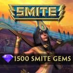 1500 SMITE Gems [Online Game Code]