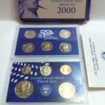 2000 S Proof Set in Original US Government Packaging