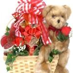Bear Hugs Gourmet Valentine's Day Gift Basket -Large