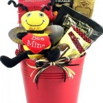 Bee My Valentine Fun Valentine's Day Gift Basket