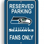Bsi Products Bsi NFL Seattle Seahawks Reserved Parking Sign