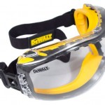 DEWALT DPG82-11C Concealer Clear Anti-Fog Dual Mold Safety Goggle