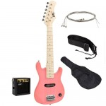 Kids Pink Electric Guitar