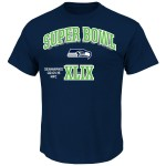 NFL NFC Conference Champion Seattle Seahawks Game Time Deluxe VI T-Shirt