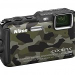 Nikon COOLPIX AW120 16.1 MP Wi-Fi and Waterproof Digital Camera with GPS and Full HD 1080p Video (Camouflage)