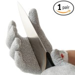 NoCry Cut Resistant Gloves - High Performance Level 5 Protection, Food Grade, Size Small-Medium.