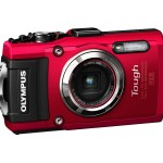 Olympus TG-3 Waterproof 16 MP Digital Camera (Red)