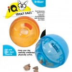 Our Pets Smarter Interactive IQ Treat Ball Dog Toy,(Colors may vary)
