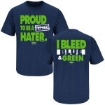 Proud to be a Hater T Shirt for Seattle Seahawks Fans
