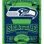 Seattle Seahawks 50x60 Fleece Blanket - Marque Design