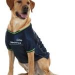 Seattle Seahawks Dog Jersey - Green Trim