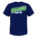 Seattle Seahawks NFL Men's Rival Vision V Team T-shirt