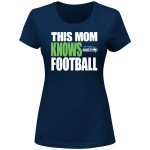 Seattle Seahawks NFL Women's This Mom Knows Football Special Edition T-shirt