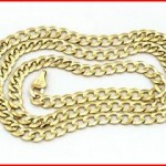 Solid 14k Yellow Gold Comfort Cuban Curb 5.7mm Chain