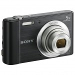 Sony W800B 20.1 MP Digital Camera (Black)