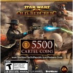 Star Wars The Old Republic 5500 Cartel Coins  Exclusive Item [Online Game Code]