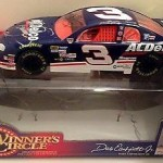 1998 Winners Circle Dale Earnhardt Sr & Dale Jr DUAL Signed Autographed Diecast Cars