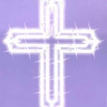20 Lighted Religious Cross Easter Window Silhouette Decoration