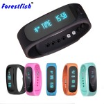 Bluetooth Sync Smart Bracelet Sports Fitness Tracker Smart Wristband Water Resistant Tracker Bracelet Sleep Monitoring Anti-lost Smart Watch
