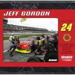 Jeff Gordon 2010 Race-Used Lug Nut Plaque - Limited Edition of 524 - Fanatics Authentic Certified