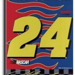 Jeff Gordon - Double-Sided Banner