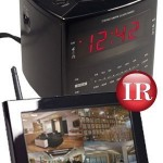 KJB C1520 Zone Shield Night Vision Clock Radio QUAD LCD