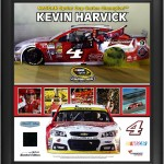 Kevin Harvick 2014 NASCAR Sprint Cup Series Champion Framed Collage With Race Used Tire Limited Edition of 500 - Fanatics Authentic Certified