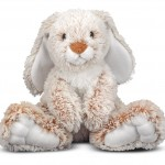 Melissa & Doug Princess Soft Toys Plush Burrow Bunny